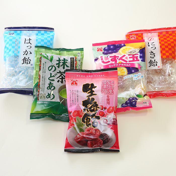 OEM商品生産品目・飴/キャンディー